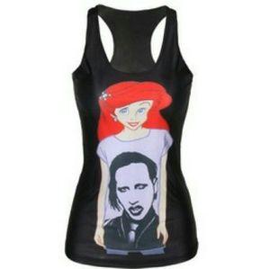 Arial Marilyn Manson tank top